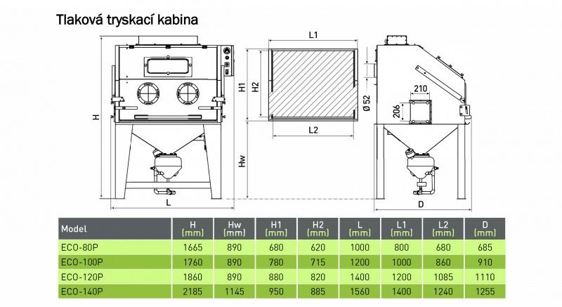ECO80-140 P Base schema